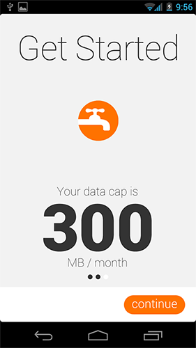 Data Plan Screen